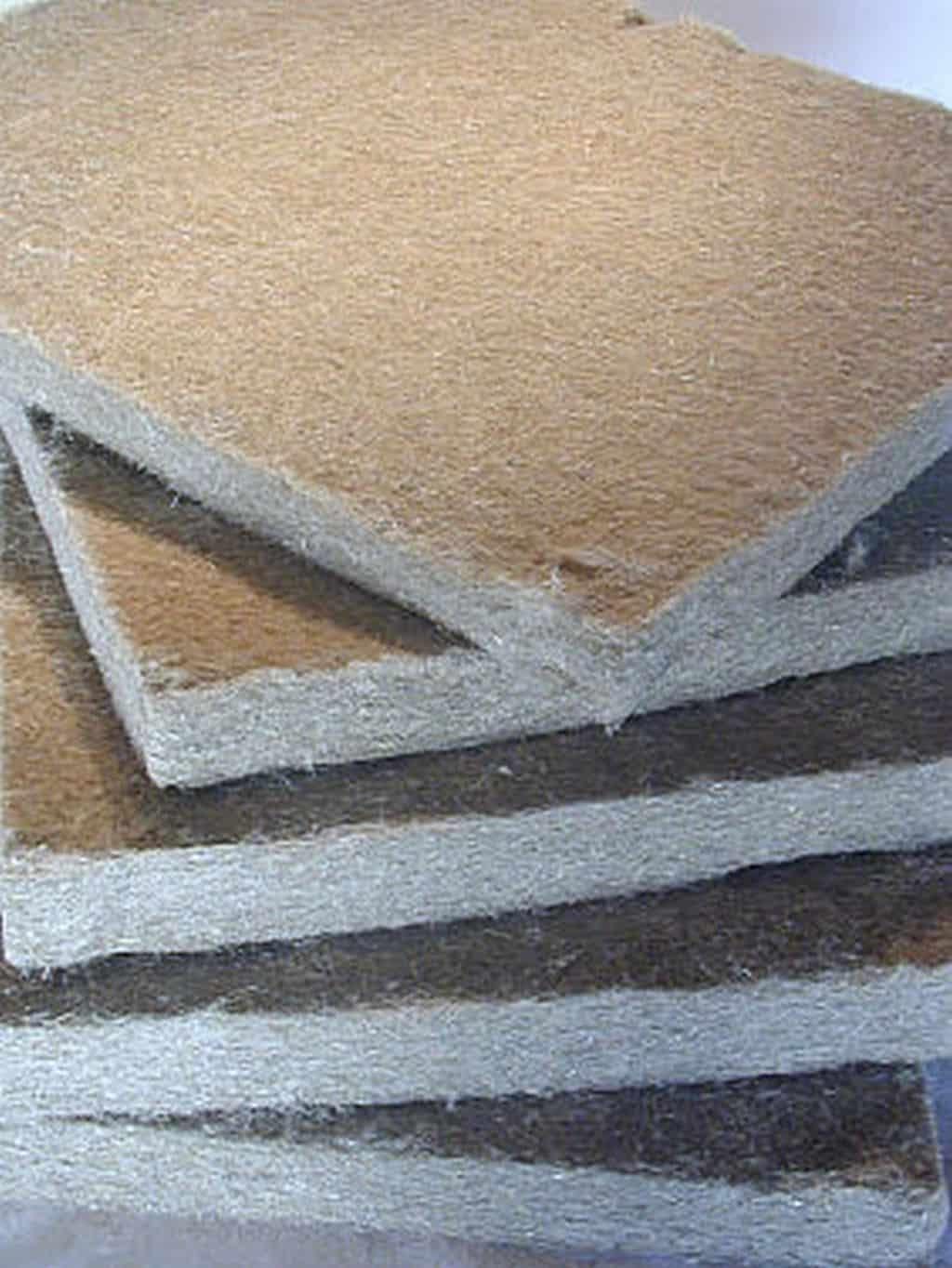 HAGA-Flachsdaemmplatten
