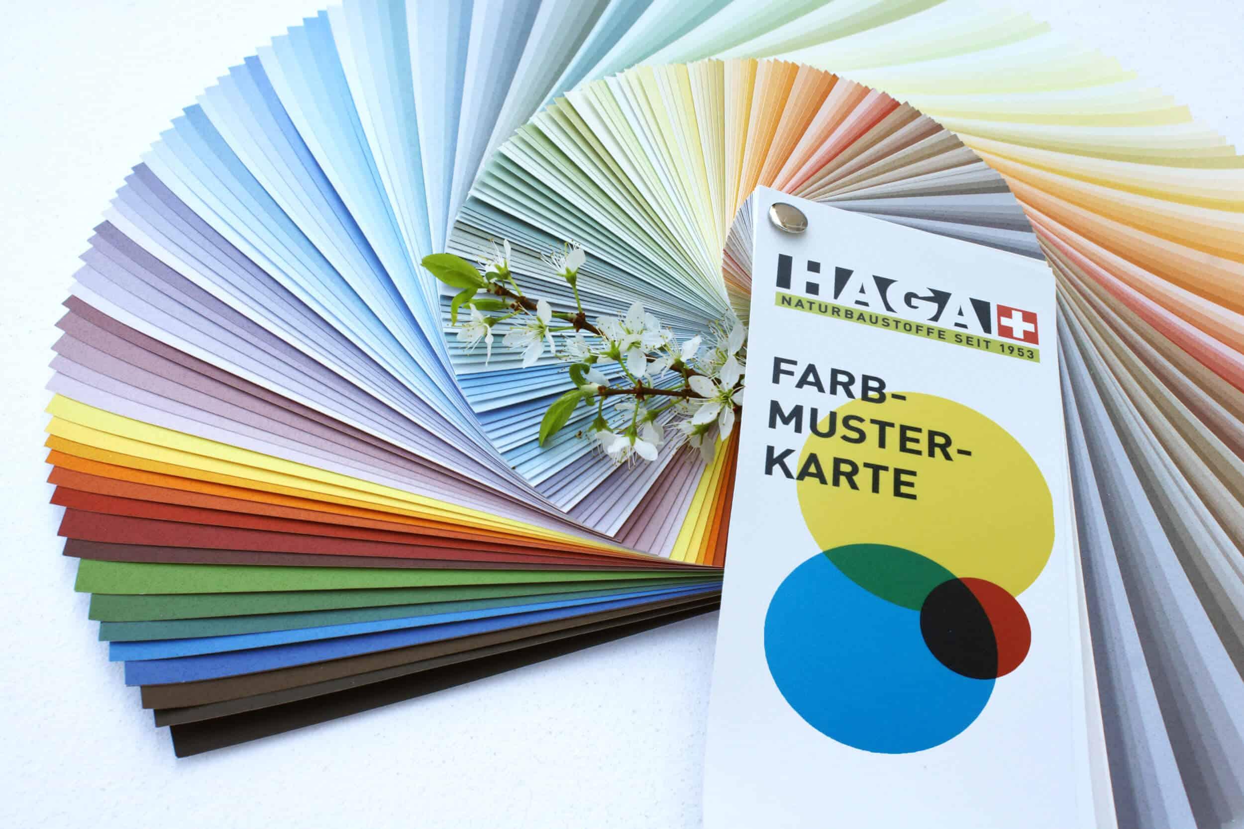 HAGA Farbmusterkarte