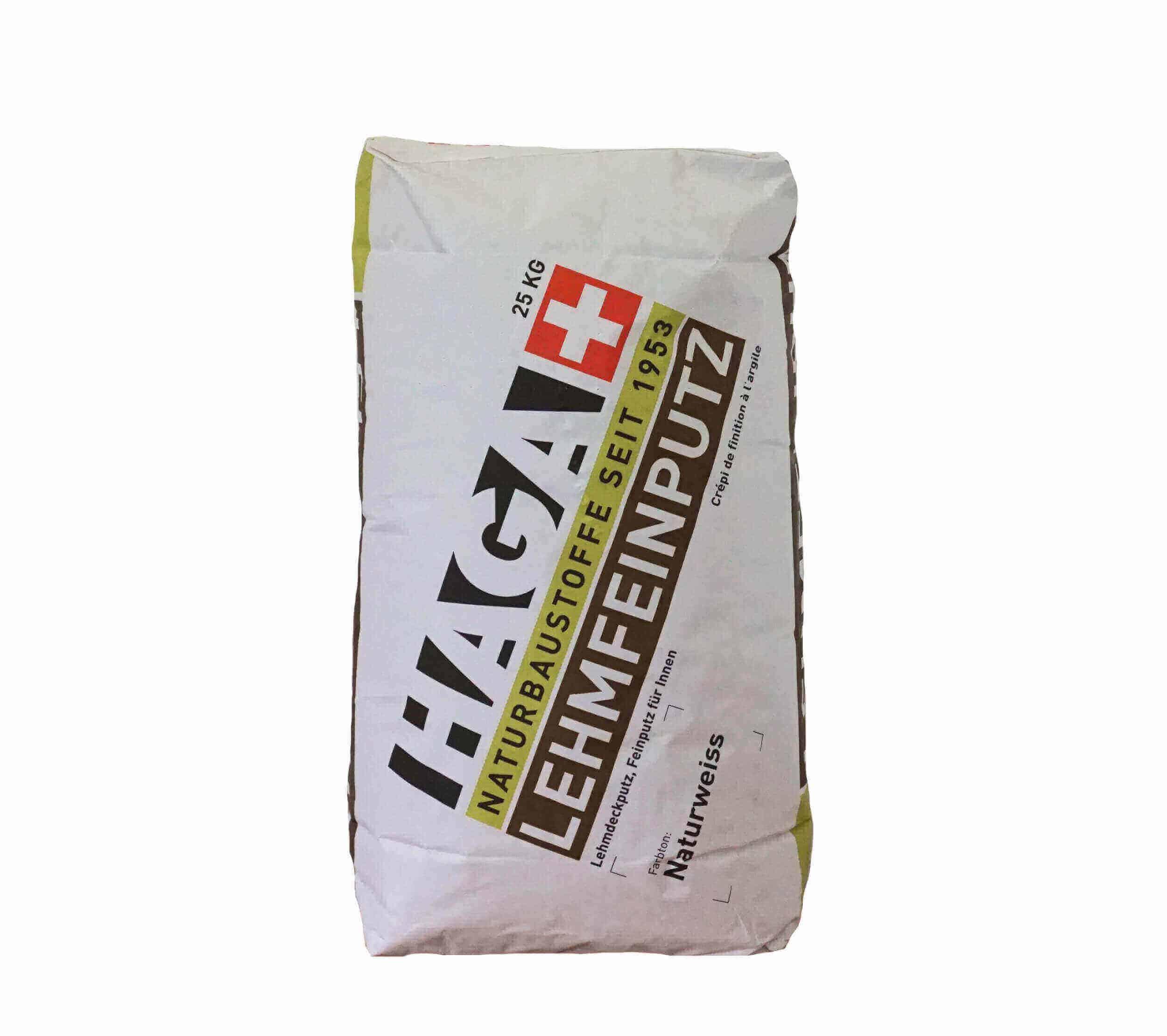 haga ag, rupperswil | lehm feinputz premium h523.0 i 25kg | haga ag